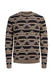 Knitted Pullover Cotton