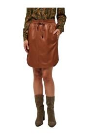Marine skirt lamb leather