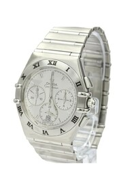 Pre-owned Constellation Quartz Stainless Steel Men's Sports Watch 1542.30
