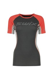 Swix Radiant RaceX SS T-Skjorte Dame Neon Red