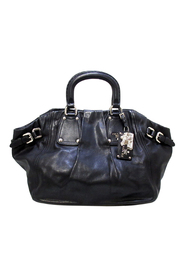 Pre-owned Soft Calf Leather Satchel