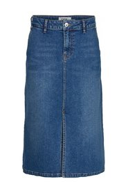 Lola knee skirt vintage denim