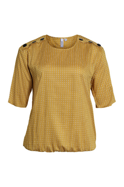 Yellow Blouse Ciso Bluser