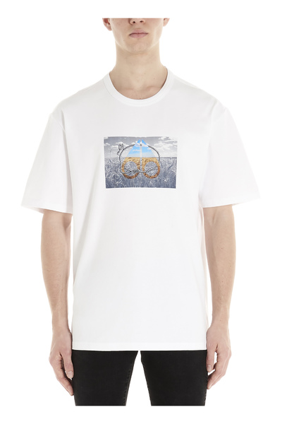 Moose Knuckles T-shirts And Polos White Print - Wit