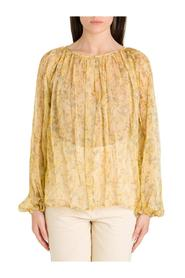 Floral Blouse in Chiffon