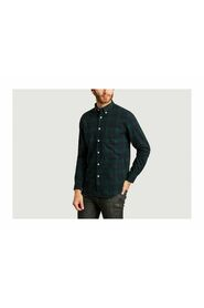 Bonfim checked flannel shirt