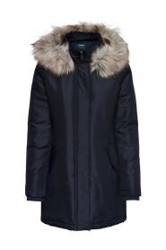 Parka coat Solid