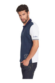 Quad polo shirt