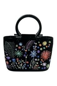 Small Floral Sequin Tote
