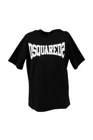 D2T633M T-shirt vestibilità slouch