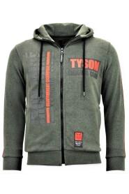 Zip Through Tyson Boxing Iron Mike