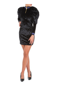 women's short mini dress long sleeve noble