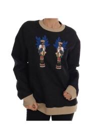 Fairy Tale Brocade Zipper Sweater