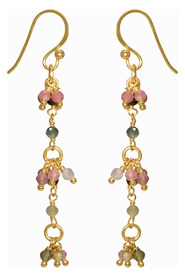 Grape Tourmaline Earrings
