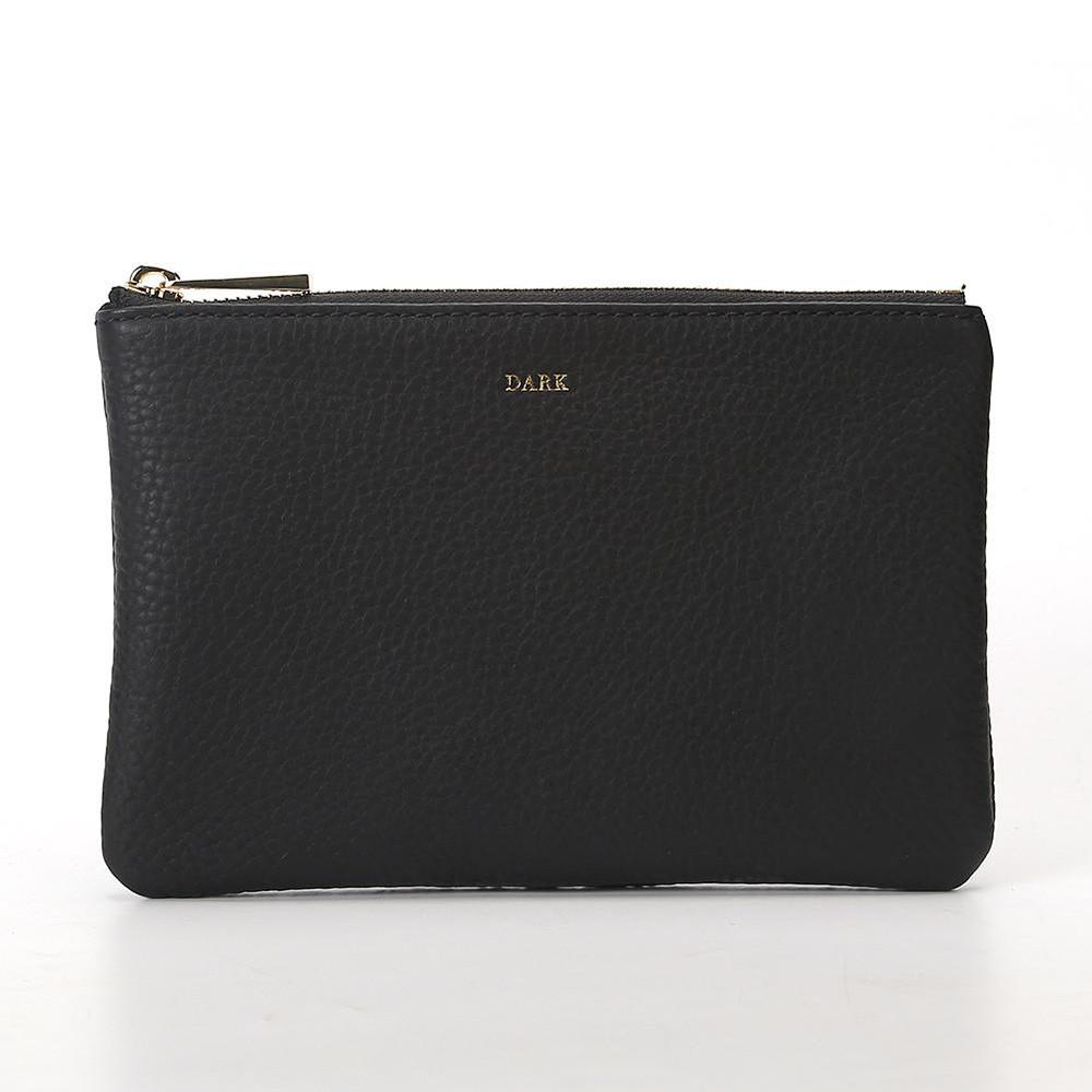 POUCH SMALL BLACK GOLD