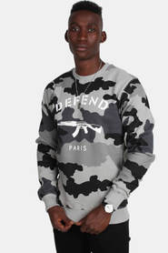 Defend Paris Sweat Camo Black