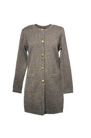Audrey Knitted wool coat
