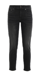 Tompkins skinny and crop jeans