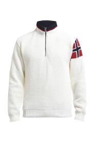 Naturhvit Holebrook Norwegian Flag Vinstopper
