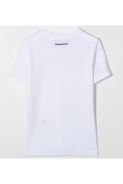 Aberdeen White T-shirts Dsquared2 T-shirts à manches courtes 1sSB1