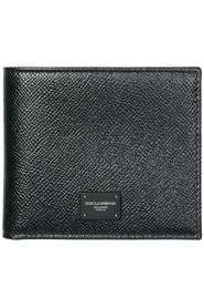 genuine leather wallet credit card bifold