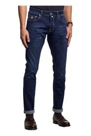 Denim Steve Satin Jeans
