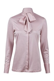 Jersey Blouse With Bow Genser