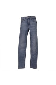 Vintage effect stretch jeans