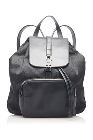 Jackie Drawstring Backpack Leather Calf