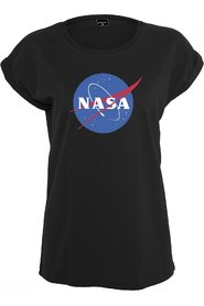 Ladies NASA Insignia T-shirt | Sort