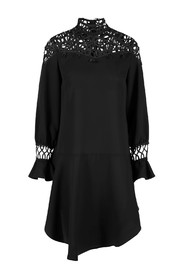 Yasdaiden l/s dress black - Y.A.S.