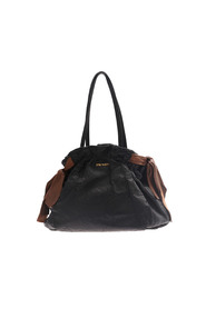 Leather Bow Tote