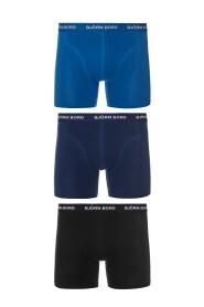 Björn Borg boxershorts 3-pack zwart