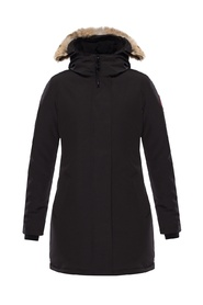 Victoria hooded down jacket