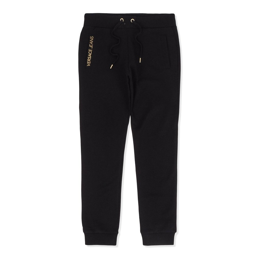 Round Gold Embroidered Sweatpants