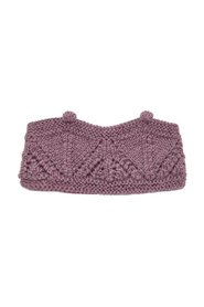 Headband knitted wool