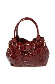 Pre-owned Patent Leather Quilted Beaton Bag