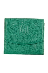 Pre-owned CC Caviar Leather Coin Pouch
