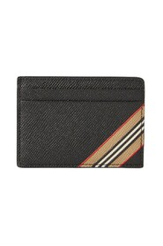 Icon Stripe Card Holder