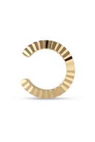 Small Reflection cuff, gold-plated sterling silver