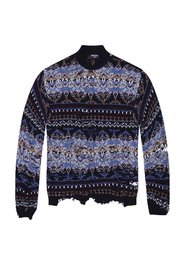 Patterned sweater