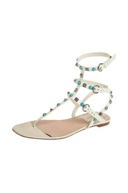 Pre-owned Flat Sandals