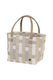 Color Block Shopper Bag