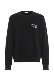 SWEATSHIRT LOGO AND QUOTE
