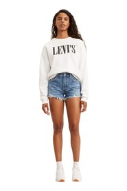 LEVIS 56327 0081 - 501 SHORTS SHORTS AND BERMUDAS Women DENIM MEDIUM BLUE