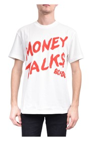 T-shirt ac/dc money talks spray on front and logo