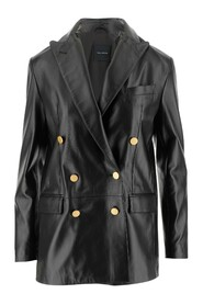 Coat Revers Long sleeves Two front pockets with flap