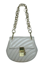 Quilted Mini Drew Bijou Shoulder Bag