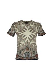 PAISLEY COTTON T-SHIRT FITTED