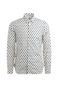 Cotton shirt with pattern